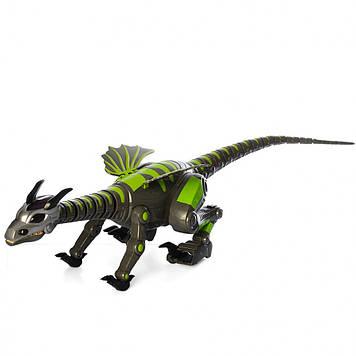 Интерактивный динозавр на радиоуправлении Bambi 28303 черный