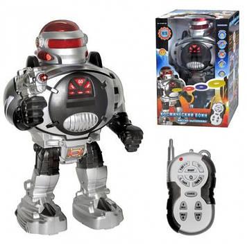 Робот на радиоуправлении Metr+ M 0465 U/R серебристый