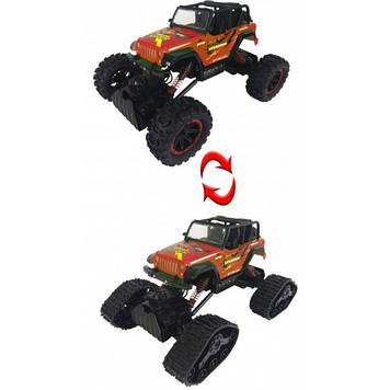 Машина-всюдихід на радіокеруванні 2в1А-Toys 8897-185 помаранчевий