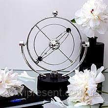 Настольный магнитный маятник Вечный двигатель Сфера Mobile А603  Орбита вечный маятник  Сфера Ньютона