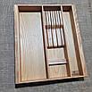 Лоток для столових приладів від 250мм Lot 303k (індивідуальні розміри), фото 2