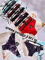 """Труси жіночі розміри S-XL (1уп./6 шт) 12кол. """"LOVE"""" купити недорого від прямого постачальника"""