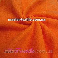 Флис однотонный (оранжевый)