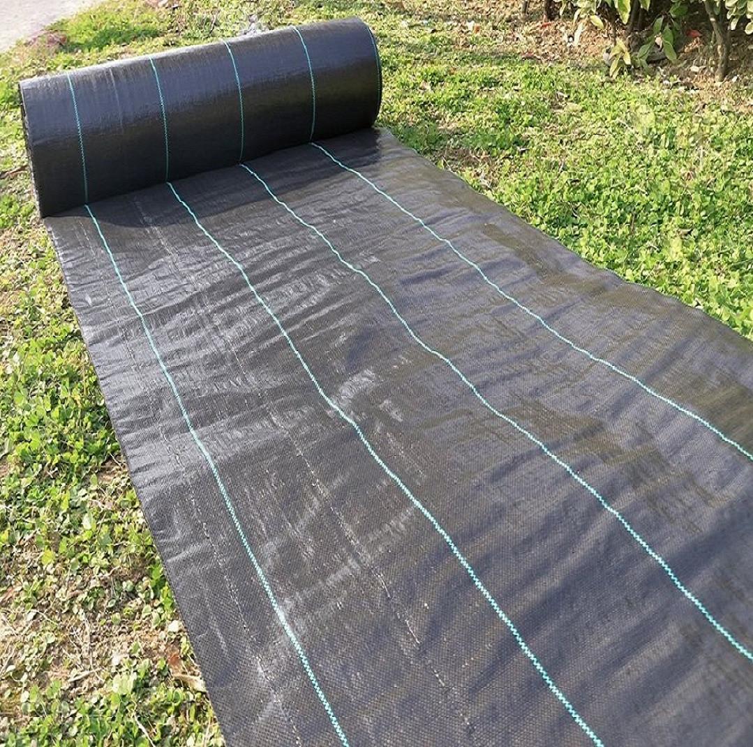 Агроткань мульчирующая чёрная Shadow 100 г/м2 1.7м х 50м