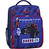 Рюкзак шкільний для хлопчика молодших класів 8 л. Stars шкільний рюкзак з ортопедичною спинкою,принт машина