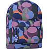 Рюкзак міський для дівчини з яскравим принтом 17 л. G-S на кожен день міський рюкзак, модний рюкзачок