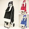 Тачка сумка з коліщатами A-PLUS візок господарський для покупок