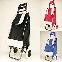 Тачка сумка с колесиками A-PLUS тележка хозяйственная для покупок, фото 1
