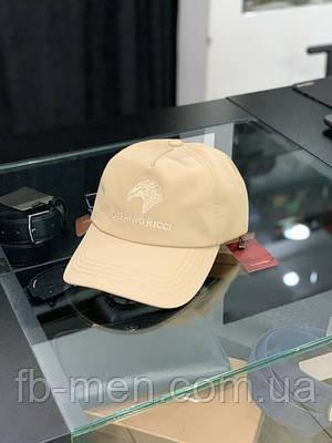 Кепка Stefano Ricci бежевая   Мужская брендовая кепка Стефано Риччи   Мужская кепка брендовая Stefano Ricci