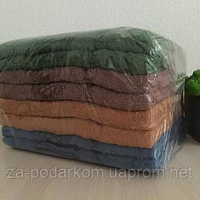 Набор Полотенец банных махровых Бамбук 140x70cm (300г/м2) упаковка 8 штук