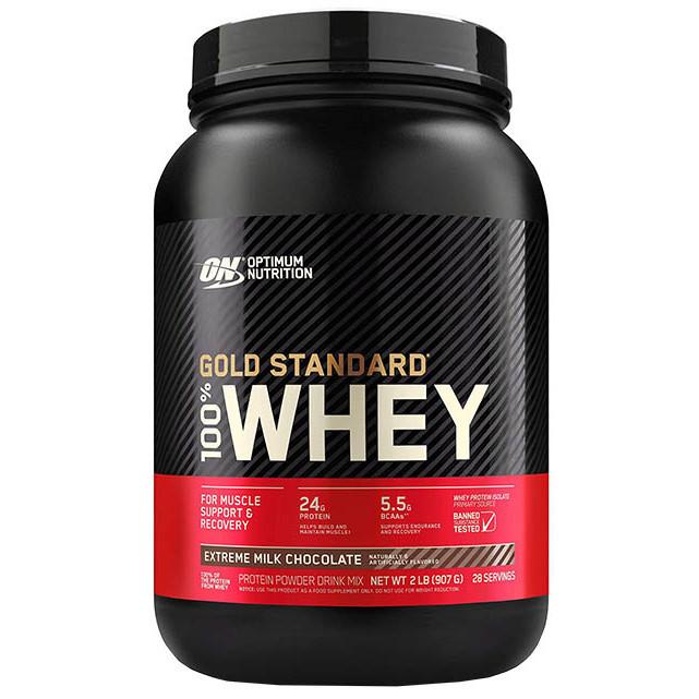 Протеїн Optimum Nutrition Whey Gold Standart для набору маси 900 грам