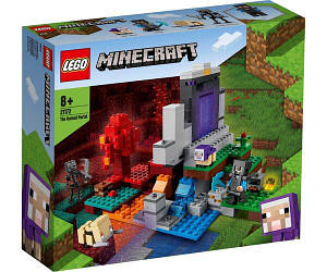 Lego Minecraft Разрушенный портал 21172