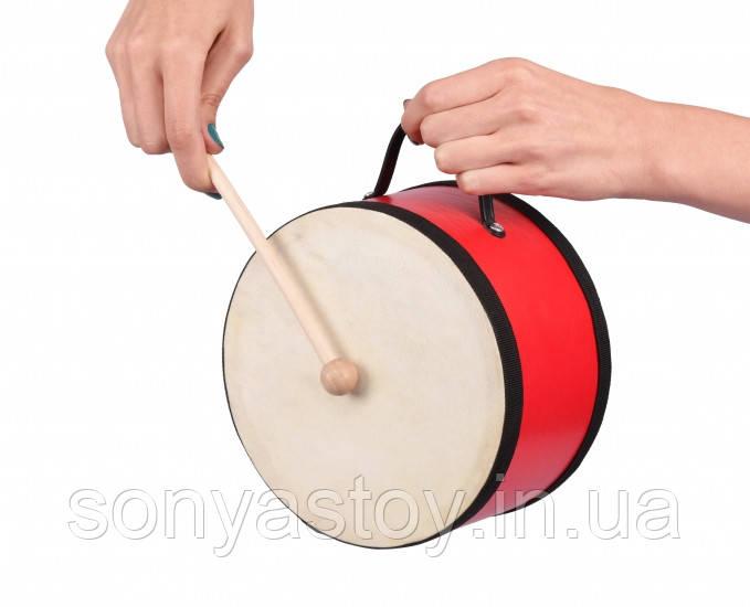 Детский музыкальный инструмент Барабан, Goki,3+