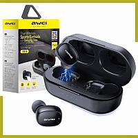 Беспроводные наушники для телефона AWEI T13 Bluetooth наушники вкладыши