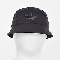 Котоновая панама Adidas(реплика) KБ-1950 черный+черный