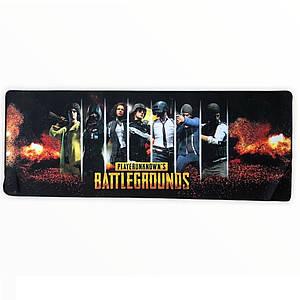 Коврик для мыши большой Battlegrounds mousepad 300/700/3mm Геймерский коврик для мыши герои