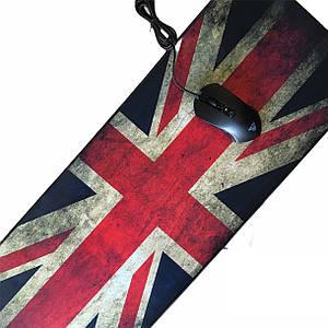 Коврик для мыши большой флаг Британии 300/800/3mm Коврик для компьютера