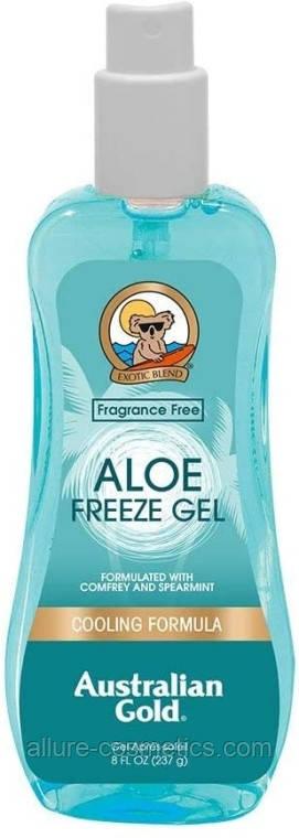 Спрей для заспокоєння шкіри після засмаги з охолоджуючим ефектом Australian Gold Aloe Freeze Spray Gel 237 мл