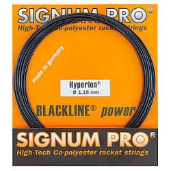 Теннисные струны Signum Pro Hyperion 12.2 м Черные 108, КОД: 1552316