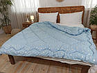 Одеяло Лебяжий пух  172х205 см осень-зима Двуспальное одеяло, фото 5
