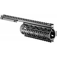 Цевье FAB Defense VFR для вывеш. ствола M4/M16/AR15. Материал - алюминий. Цвет - черный