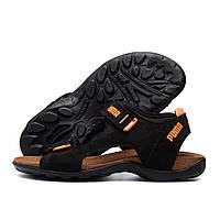 Чоловічі шкіряні сандалі Puma Active (репліка)