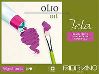 Склейка для масла и акрила Fabriano Tela, 24х32 см 10 л.  68002432