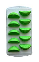 Силиконовая форма для льда Douba  Дольки апельсина 10 ячеек/ Силіконова форма для льду