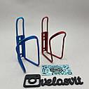Флягодержатель алюмінієвий, кольоровий, фото 5