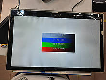 Матрица 15.6 Led Slim 1366x768 30pin lvds разъем справа внизу (со стороны платы) B156XTN03.1 Вместе с битым