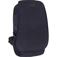 Практичный рюкзак городской 22 л. черного цвета на каждый день, практичный рюкзак мужской, для ноутбука, фото 1