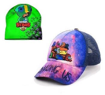 Шапки кепки подростковые, женские