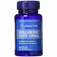 Гиалуроновая кислота Puritan's Pride Hyaluronic Acid 100 mg 60 капс