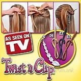 Шпилька для волосся Twist n Clip, фото 2