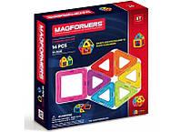 Магнітний конструктор Magformers Базовий набір, 14 елементів (701003)