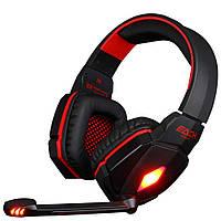Игровые наушники KOTION EACH с микрофоном и LED RGB подсветкой проводные G4000