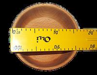 Деревянная пиала d-17