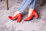 Туфли женские Fashion Kaaisa 2619 36 размер 23,5 см Красный, фото 10