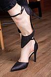 Туфли женские Fashion Quana 2612 36 размер 23,5 см Черный, фото 8