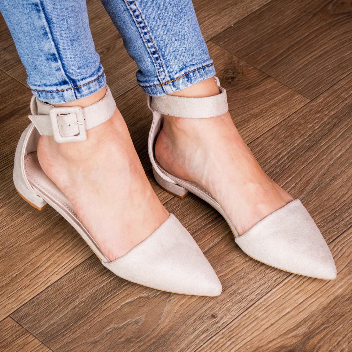Туфлі жіночі Fashion Zeke 2438 36 розмір, 23,5 см Бежевий