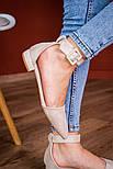 Туфлі жіночі Fashion Zeke 2438 36 розмір, 23,5 см Бежевий, фото 2