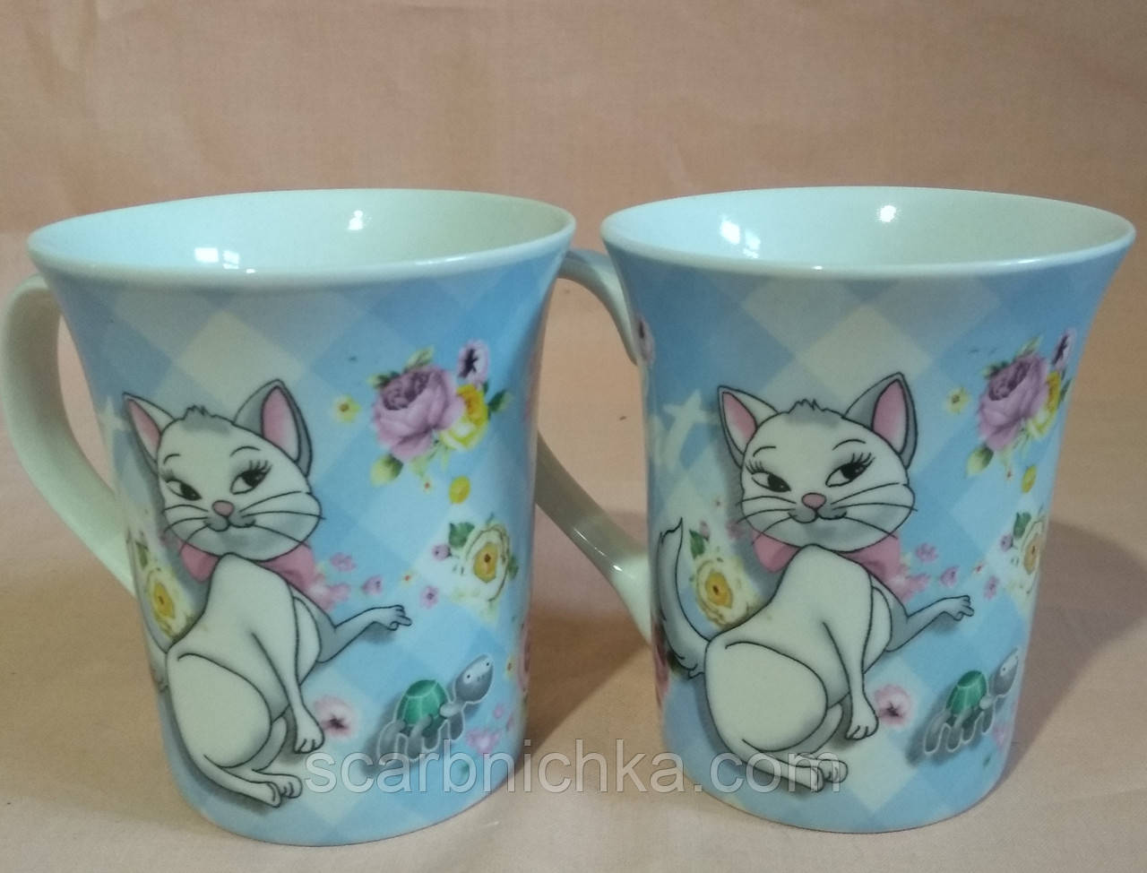 """Чашка """"Кішки"""" 385мл. Без подарункової упаковки"""