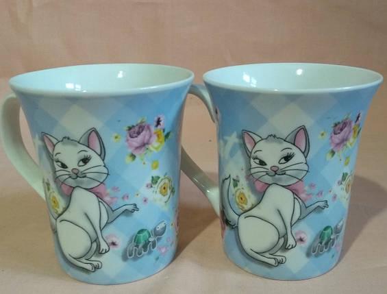 """Чашка """"Кішки"""" 385мл. Без подарункової упаковки, фото 2"""