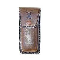 Футляр-коробка для перочинного ножа (кожа говяжья) 125 х 40 х 20 мм
