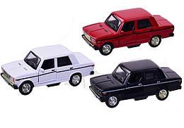 Машинка Жигули ВАЗ-2106-07 коллекционная модель Lada 2106-07 металлическая, 1:32-1:36, (ассортимент), Автопром