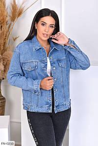 Женская Куртка джинсовая 50, 52, 54, 56