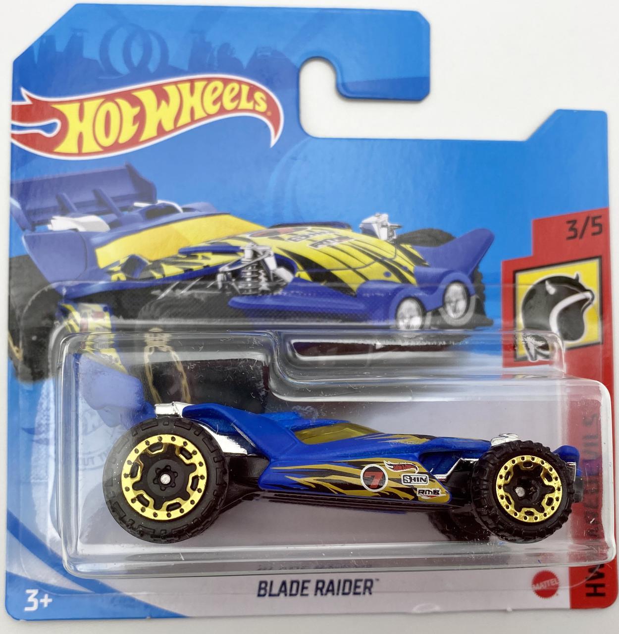 Базовая металлическая машинка Хот Вилс Hot Wheels Blade Raider car оригинал Mattel Уценка