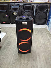 Колонка аккумуляторная ProAudio SG-X3 c радиомикрофоном (120W/USB/BT/FM/TWS)