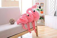 Фламинго 110 см. мягкая игрушка