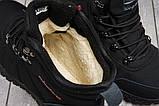 Зимові чоловічі кросівки 31232, Columbia Waterproof, чорні, [ 42 ] р. 42-27,5 див., фото 7
